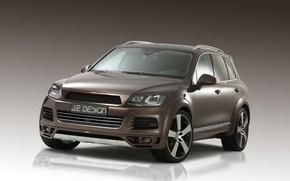 Картинка Volkswagen, Touareg, Tuning, Brown, Je Design
