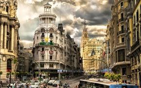 Картинка движение, Мадрид, улица