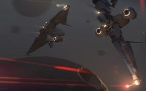 Картинка Star Citizen, space ship, MISC Reliant Kore