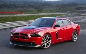 Картинка Dodge, 2010, додж, Charger, чарджер, RedLine