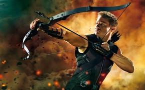 Картинка лук, стрела, Мстители, The Avengers, Hawkeye