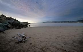 Обои песок, море, волны