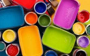 Картинка живопись, краски, настроение