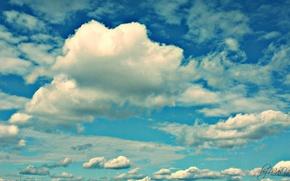 Картинка небеса, Небо, типо чистое, курилка