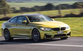 Картинка дорога, car, авто, скорость, BMW, road, Coupe, Competition Package, M4