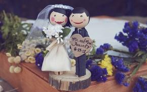 Картинка пара, невеста, свадьба, жених