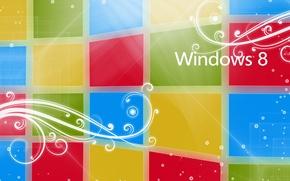 Картинка логотип, лого, windows, windows 8
