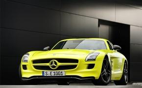 Обои Mercedes, Benz, AMG, SLS