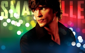 Обои Tom Welling, сериал, Кларк Кент, актер, Супермен, Том Уэллинг, Тайны Смолвиля, Smallville