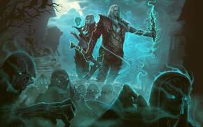Картинка Diablo III, Game, Blizzard Entertainment, Necromancer