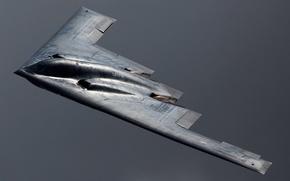 Картинка небо, оружие, самолёт, B-2 Spirit