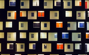 Картинка здание, окна, Нидерланды, фасад, Netherlands, Гаага, The Hague