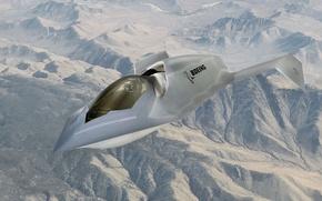 Картинка Boeing, UCAV, Bird of Prey