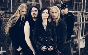 Обои sympho, Dark Passion Play, promo, metal, Nightwish