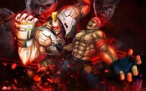 Картинка Capcom, Street Fighter X Tekken, Bryan Fury, Jack-X