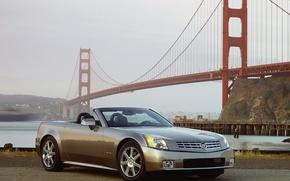 Обои вода, мост, Cadillac