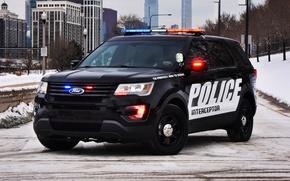 Картинка Ford, полиция, форд, Police, Interceptor, 2015, U502