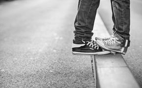 Картинка love, legs, jeans, shoes