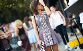 Картинка город, платье, new-york, street style