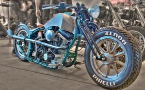 Картинка дизайн, стиль, фон, HDR, мотоцикл, форма, байк, драгстер