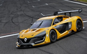 Обои Renault, рено, суперкар, Sport