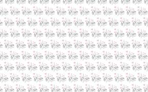 Картинка фон, романтика, Париж, башня, текстура, арт