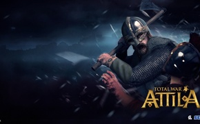 Обои Аттила, Total War: Attila, викинг, Sega, viking, стратегия, The Creative Assembly