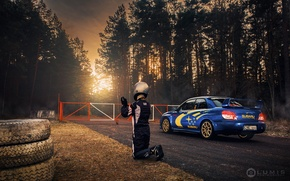 Обои машина, авто, Subaru, фотограф, WRX, auto, photography, photographer, Субару, Lumis