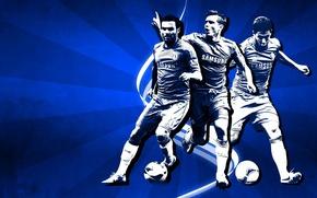 Картинка Blues, Frank Lampard, ФК Челси, FC Chelsea, Juan Mata, Eden Hazard