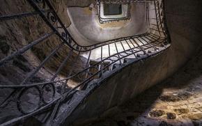 Обои фон, лестница, стены