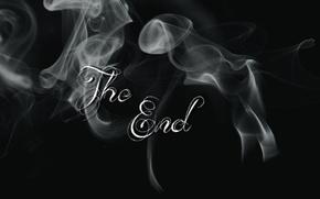 Картинка тектура, фон, белый, абстракт, конец, форма, дым, текст, черный цвет, надпись