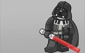 Обои Дарт Вейдер, Star wars, Lego, Звездные воины