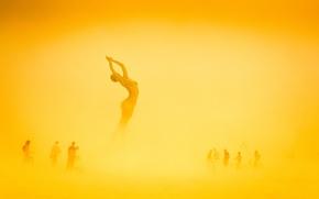 Обои люди, огонь, арт, США, Невада, искусство, Burning-Man