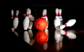 Картинка спорт, кегли, strike, боулинг