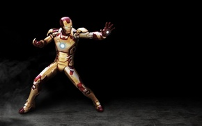 Картинка cinema, red, golden, armor, power, man, iron man, film, suit, Tony Stark, helmet, iron man ...