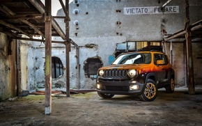 Обои Garage Italia Customs, Montreux Jazz Festival Showcar, джип, 2015, ренегат, Jeep, Renegade