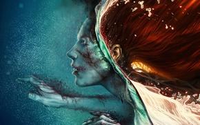 Картинка арт, Romantically Apocalyptic, Романтика Апокалипсиса, alexiuss, Breaking the surface