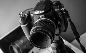 Картинка фон, камера, Nikon
