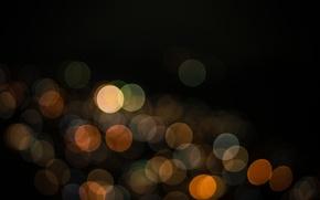 Обои цвет, свет, круги, фон