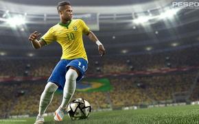 Картинка brazil, neymar, pro evolution soccer, pes 2016