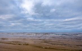 Картинка море, небо, вода