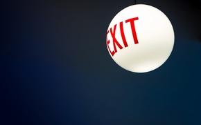 Картинка фон, выход, exit
