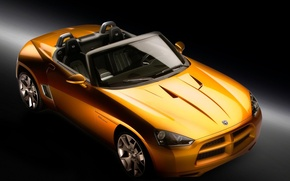 Обои Dodge, concept, желтый, demon
