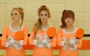 Картинка music, Girls, three, dolls, Orange Caramel