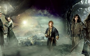 Обои Хоббит: Пустошь Смауга, or There and Back Again, The Hobbit: The Desolation of Smaug, или ...
