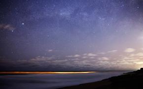 Картинка звезды, огни, Млечный путь, Бунгула, Толиман, южное небо, Ригель
