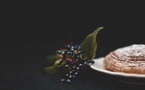 Картинка ягоды, еда, хлеб