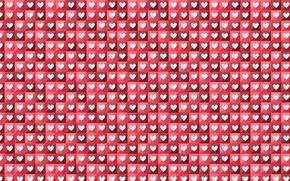 Картинка фон, сердце, вектор, текстура, арт