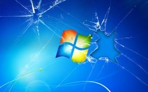 Картинка windows7, виндовс, hi tech