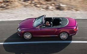 Картинка Bentley, Continental, кабриолет, GTC, 625 л.с., вид с верху